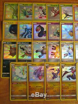 Nm Complet Sv1-sv45 Pokemon Shiny Vault Carte Cachée Parques Set Promo Rare Sv