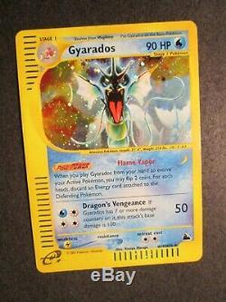 Nm Pokemon (holo) Leviator Carte Skyridge Set H10 / H32 Rare E-reader 2003 Ap