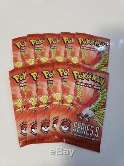 Pack De Cartes Promo Pokemon Pop Series 5 Scellées Épuisées Lot De 10 Super Rares