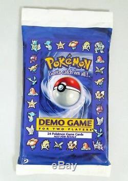 Pack De Jeu De Démonstration De 1998 Pour 2 Joueurs Pokémon Scellé 1998 Rare Shadowless Cards
