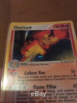 Paquet Fresh Pokemon 2003 Charizard Secret Rare Holo Card 100/97 Ex Dragon Mint