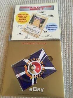 Pikachu 10 Enregistrements Carte Promo Cd! Charizard / Blastoise / Venusaur Ultra Rare Holo