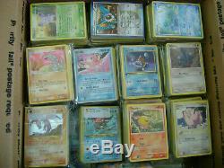 Plus De 5000 Cartes Pokemon Lot Collection Super Rares Ex Rare Holos Holographic Vintage