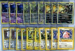 Pokemon (16) Carte Lot Set 1ère Édition, Holo Foil, Rares, Holographic + Charizard