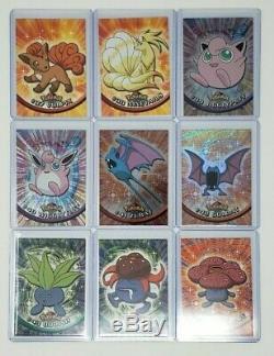 Pokemon 1999 Série 1 Topps Set Base Complète Lot De 76 Cartes, 13 Séries Tv Rare