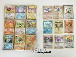 Pokemon 1er Japonais 151/151 Base Complète Menthe Ex Holos, Rares, Uc, C Cartes 1996