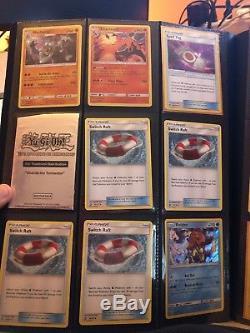 Pokemon Binder Collection Complète Beaucoup De Cartes Rares Et Précieuses Pas Cher