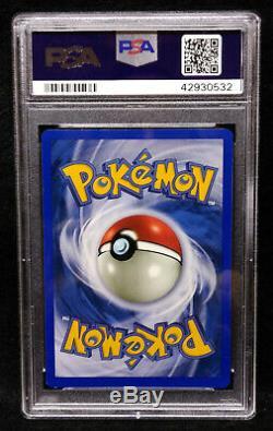 Pokémon Brillant Charizard 107/105 Psa 9 Rare Holo Card Mint 9