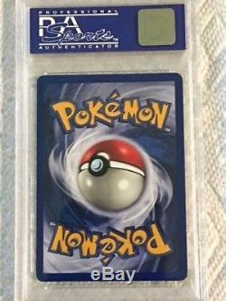Pokemon Card 1999 Ensemble De Base Pokemon Holo Charizard # 4 Psa 9 Mint