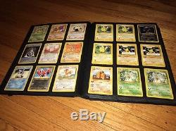 Pokémon Card Lot Collection Binder Rares, Promo, Holo, Ultra Pro Binder 189 Card