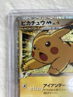 Pokemon Card Pikachu M Lv. X Promo (043/dpt-p) Pokémon Importation Japonaise Jp Used
