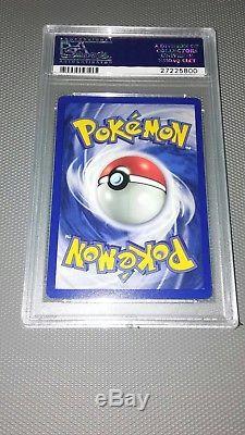 Pokemon Card Première Édition Mewtwo Base Set 10/102, Psa 10 Gem Mint
