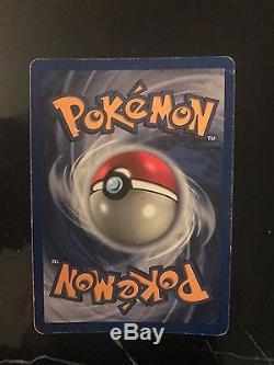 Pokémon Card Rare Première Édition Machamp 8/102 Holo Jamais Ouvert Nouveau
