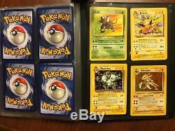 Pokemon Carte Charizard 4/102 & 40 Ensemble De Base Collection Rare Holo Wotc Cartes D'assistant