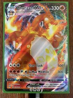 Pokemon Carte Charizard Vmax Ultra Rare 020/189 Darkness Ablaze Mint 20/189