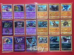 Pokemon Carte Set Ultra Prisme X147 Complet C / Unc / Rare / Holo Rare / Prisme Rare / Gx