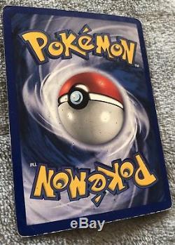 Pokemon Carte Shadowless Charizard Rare Holo 4/102 Base Set