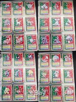 Pokemon Carte Topsun 150/150 Très Rare Charizard Mewtwo 1995 Ensemble Complet