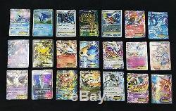 Pokemon Ccg Lot De 122 Ex Ultra Rare Full Art Break Cartes Anglais Joué-pauvre