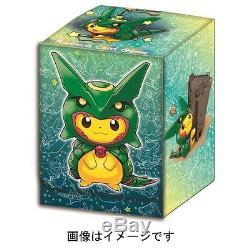 Pokemon Center Japan Card Game Xy Break Pikachu Rayquaza Poncho Cosplay Box