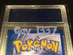 Pokemon Charizard Fpo Pour La Carte De Psa De Menthe Rare De Test / D'échantillon Seulement De Position Encased