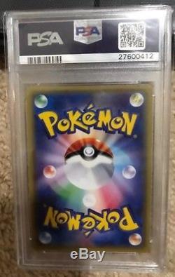 Pokemon Charizard Gx Hr Carte Rainbow Hyper Rare Psa 10 Japonais 058/051 Sm3h