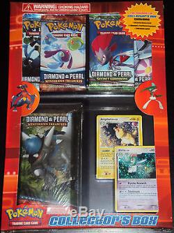 Pokemon Diamond & Pearl Booster Pack Lava Flow Theme Deck Set With2 Rare Holo Card
