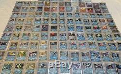 Pokemon Go Tcg 16 Card Lot 1er Editions Holo Foils Charizard Rares Blastoise