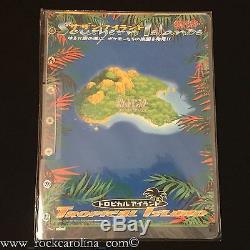 Pokemon Îles Du Sud Set Complet Dans Rare Binders (scellé) 18 Cartes Japonaises
