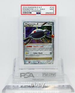 Pokemon Legends Réveillé Magnezone LV X 142/146 Holo Rare Card Psa 9 Mint #