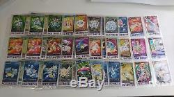 Pokemon Mint-lp Complet Carddass Bandai Série 3/4 Prism Card Set + Promos Rare