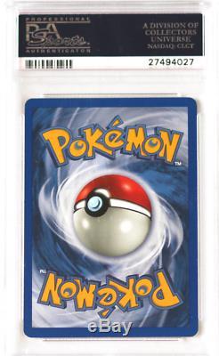 Pokemon Neo Destin # 107 Charizard Brillante Holo Psa 10 Carte Gem Mint Rare