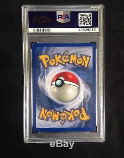 Pokemon Neo Destiny # 107/105 Shri Charizard Carte Ultra Rare Psa 9