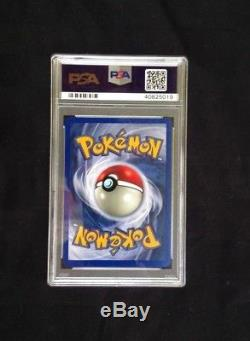 Pokemon Neo Destiny # 109/105 Brillant Mewtwo Carte Ultra Rare Psa 10
