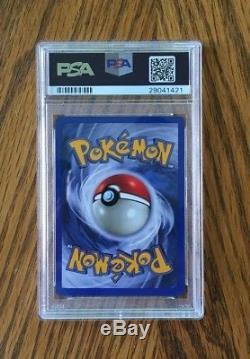 Pokemon Neo Destiny # 109/105 Shining Mewtwo Carte Ultra Rare Psa 9