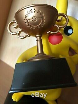 Pokemon Pikachu Trophy Champion Du Monde 2015 Demi-finaliste Tcg Card Game Rare