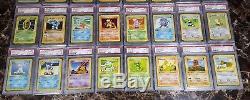 Pokemon Psa 10 Complete 103 Carte 1er Ed Base Set Charizard Blastoise Venusaur
