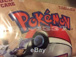 Pokemon Sealed Red Logo Fossil Theme Deck Box Australian Made! Cartes Tcg Rare