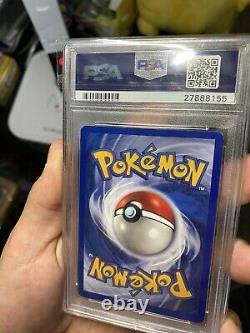 Pokemon Shadowless De Base # 4 Charizard Holo Psa 8 Card Near Mint-mint Rare