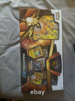 Pokemon Shining Legends Special Collection Raichu Gx Box Cartes À Collectionner Tcg
