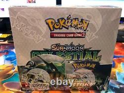 Pokemon Tcg Sun - Moon Sm7 Celestial Storm Booster Box Nouvelles Cartes Scellées À La Main
