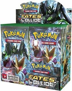 Pokemon Tcg Xy10 Fates Collide Booster Box New - Cartes Scellées, À La Main