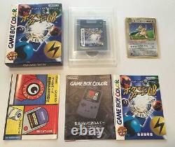 Pokemon Trading Card GB Cib Dragonite Promo Japonais Holo Rare Game Boy Psa 10
