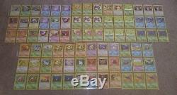 Pokemon Vintage Carte Lot 850+ Holo Rare Promo Base Shadowless Skyridge Charizard