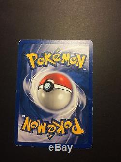 Première Addition! Charmander Pokemon Card 50/82 Extremement Rare! Near Mint
