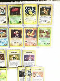 Proche Complet Pokemon Gym Hero Holo & Rare Set De Cartes Manquant 3 Holos