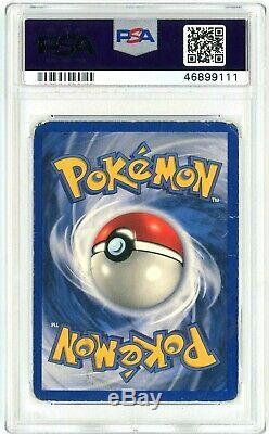 Psa 1 Pr Charizard 4/102 (shadowless Set De Base) Holo Rare Carte Pokémon