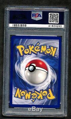 Psa 10 1ère Édition Set De Fossiles Dragonite 4/62 Holo Rare Gem Mint Pokemon