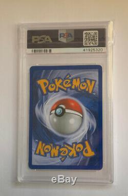 Psa 10 Gem Mint 1ère Édition Steelix 15/111 Neo Genesis Holo Rare Carte Pokemon