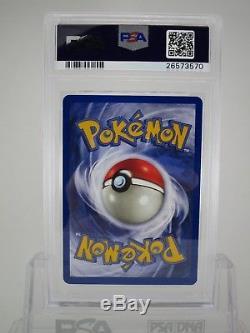 Psa 10 Gem Mint Blastoise Base De Jeu Illimitée Holo Rare Pokemon Card 2/102 B41